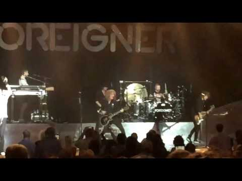 Foreigner - Juke Box Hero. Fayetteville, NC. 2-25-2017. Crown Theatre.