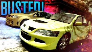 BUSTED BY LEVEL 1 COPS!?!? WHAT!!! | Need for Speed Most Wanted Let