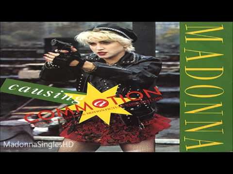 Madonna - Causing A Commotion (Silver Screen Mix)