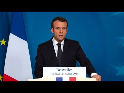 """Bruxelles: Macron favorable à un budget européen """"en expansion"""""""
