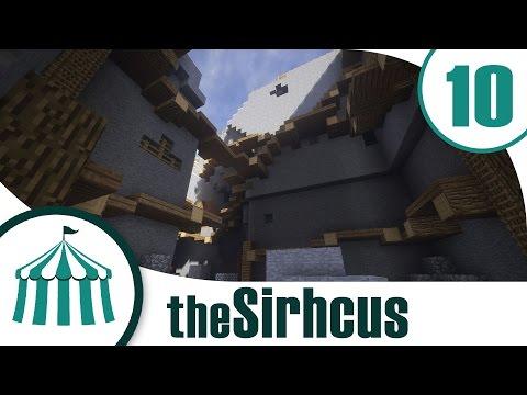 "The Sirhcus | Ep. 10 | ""Dressing the Hole"" | Vanilla Minecraft"
