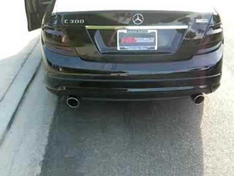 Hgmotorsports mercedes c300 w custom catback exhaust for Mercedes benz c300 exhaust