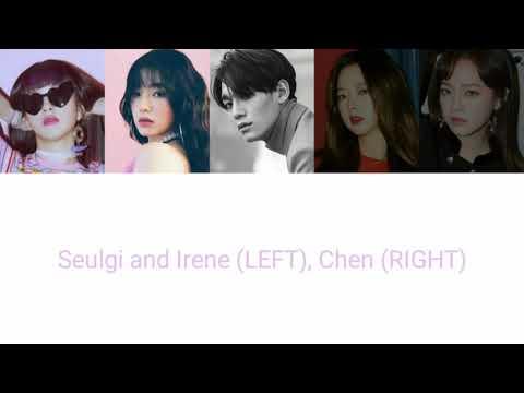 EXO Chen feat. RED VELVET Seulrene, GUGUDAN/I.O.I Sejeong, EXID Solji - Tears