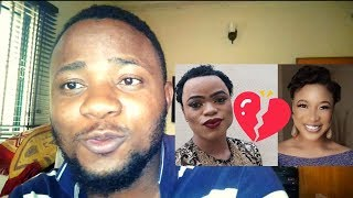 Tonto Dikeh And Bobrisky Finally FIGHT Over Instagram Fan Page