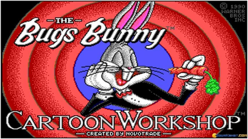 Bugs Bunny Cartoon Workshop Gameplay Pc Game 1990 Youtube
