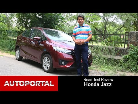 New Honda Jazz 2015 Test Drive Review in Hindi - Auto Portal