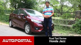 Honda Jazz 2015 Test Drive Review in Hindi - Auto Portal