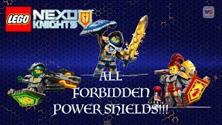 Clay, Macy and Aaron Used All Forbidden Nexo Power Shields
