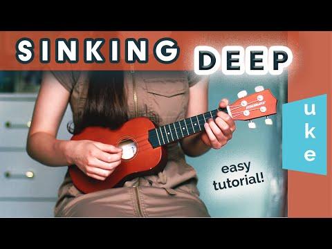 Sinking Deep - Hillsong (Uke Tutorial!) - YouTube