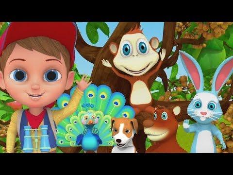 बालगीत For Babies | बच्चों के लिए गाने | Funny Cartoon Videos For Kids