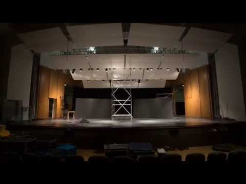 "Building of the set of ""Chance: The Musical"""