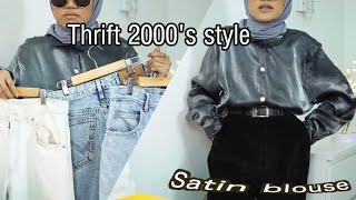 Thrifting 2000's style (I went to 4 different bundle shops area Kota Bharu)