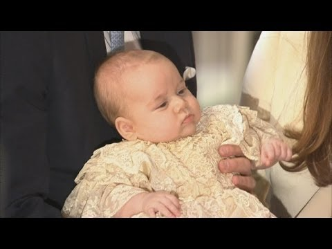 Prince George's Christening: Royal Family gather for service