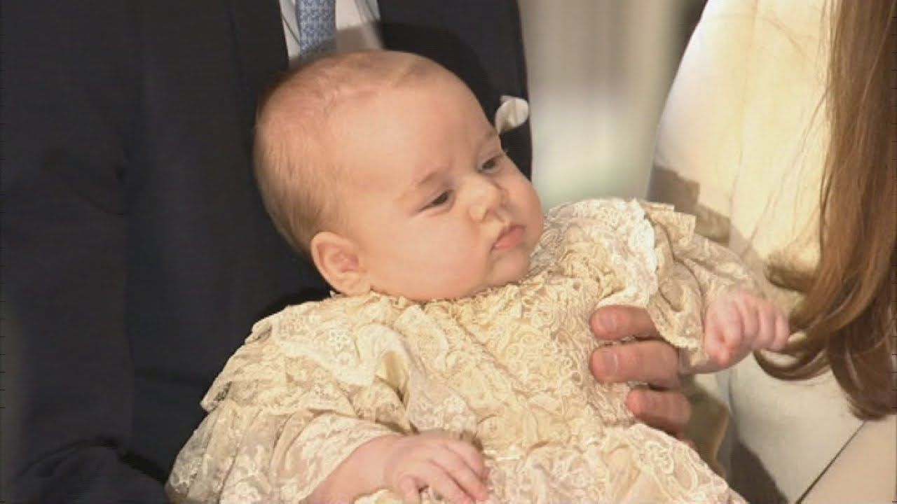 Prince George's Christening: Royal Family gather for ...