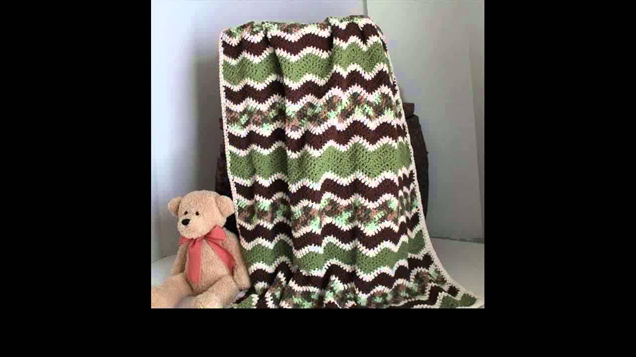 Single crochet ripple afghan pattern youtube single crochet ripple afghan pattern bankloansurffo Images