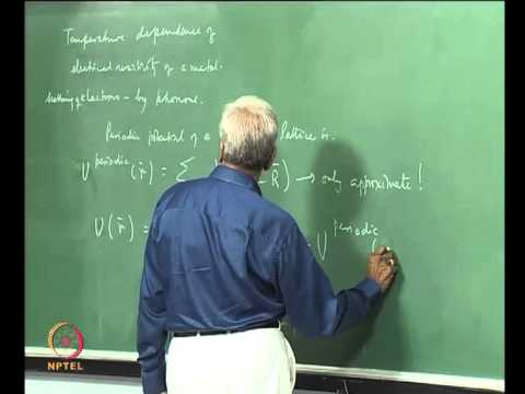 Mod-01 Lec-15 Anharmonicity and Thermal Expansion