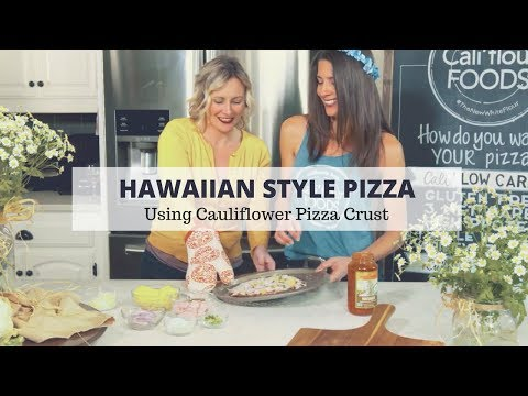 Pizza Recipe: Making  Cauliflower Pizza Crust Using Low-Carb
