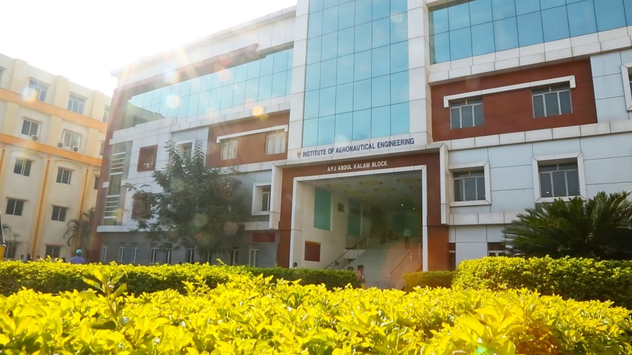 Aerospace Engineering Colleges >> Welcome To Iare Iare Best Engineering College