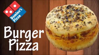 Now make Burger Pizza like Domino's at home !!! Simply Yummylicious..
