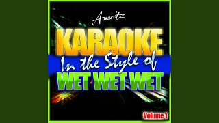 Love Is All Around (In the Style of Wet Wet Wet) (Karaoke Version)