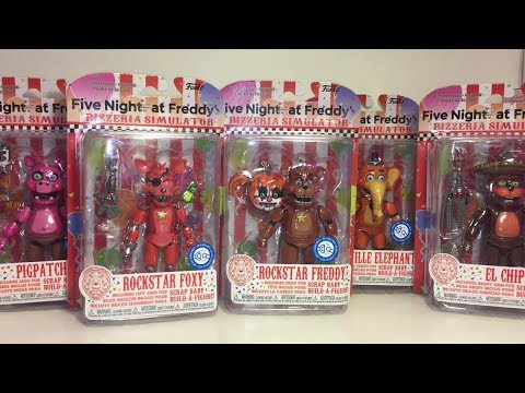Five Nights at Freddy's RockStars Pizzeria Simulator Funko Figures Toy Unboxing & Review thumbnail