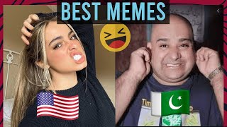 Pakistan VS America | Trending Memes Complication | Funny