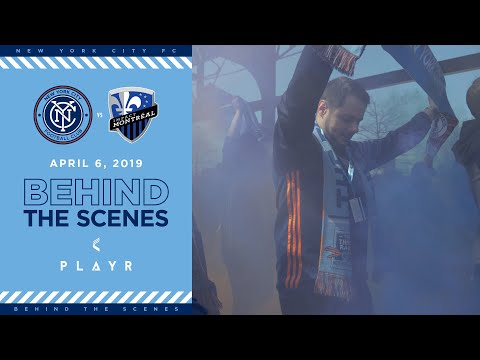 BEHIND THE SCENES | NYCFC vs. Montreal Impact | 04.06.19
