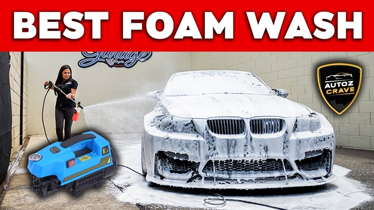 The Best Portable High Pressure Washer For Luxury Car wash At Home ||  Best Car Wash At Home DIY