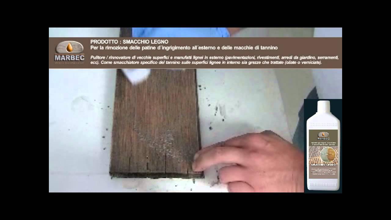 Come eliminare la patina dinvecchiamento da legno esterno