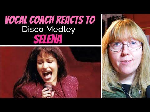 Vocal Coach Reacts To Selena 'Disco Medley'