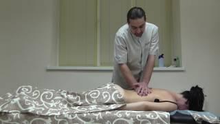 видео Лечебный массаж спины в Киеве