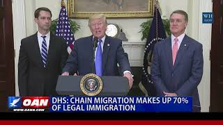 DHS: Chain Migration Makes Up 70% of Legal Immigration