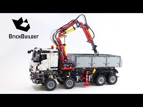 Lego Technic 42043 Mercedes-Benz Arocs 3245 - Lego Speed build