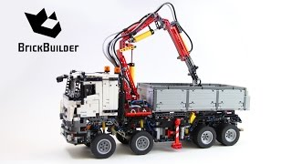 Lego Technic 42043 Mercedes-Benz Arocs 3245 - Lego Speed build