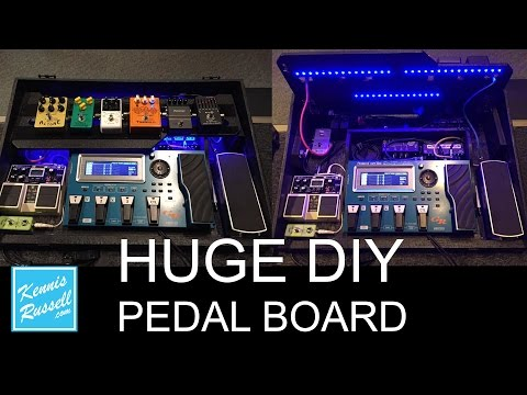 Check Out My Huge Awesome Custom Pedalboard Before I Destroy It