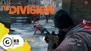 10 MInute Gameplay Walkthrough - The Division - E3 2015