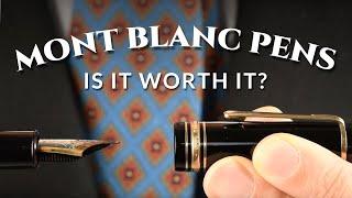 Is It Worth It? Montblanc Meisterstück 149 146 144 Fountain Pens, Ballpoint & Mont Blanc Rollerballs