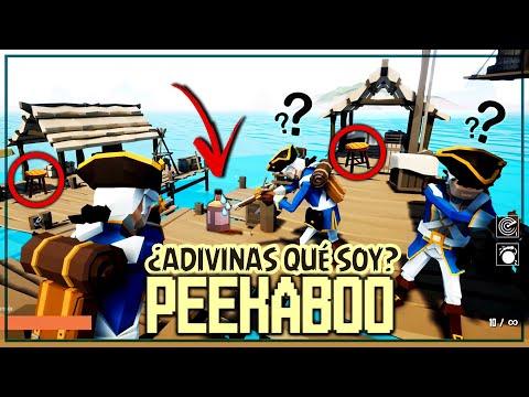 PEEKABOO - ¿ADIVINAS QUE SOY? *NUEVO* MAPA PIRATA!