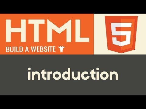Introduction | HTML | Tutorial 1