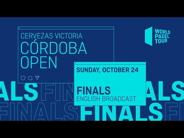 Finals - Cervezas Victoria Córdoba Open 2021  - World Padel Tour