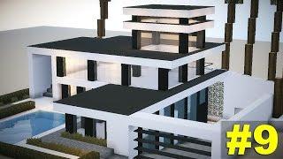Minecraft Tutorial: Casa MEGA Moderna #9: MOBILIA!