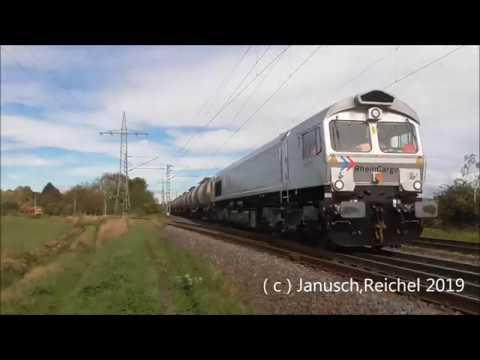 Sichtungen Am 21.10.2019 + Bonus / MRCE,Crossrail,RhC,Rail-Pool,Lokomotion,CFL,SNCF,RWE.
