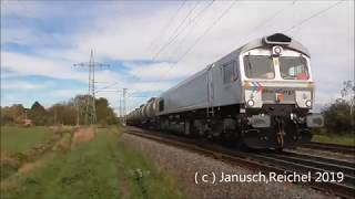 Sichtungen am 21.10.2019 + bonus MRCE,Crossrail,RhC,Rail-Pool,Lokomotion,CFL,SNCF,RWE.