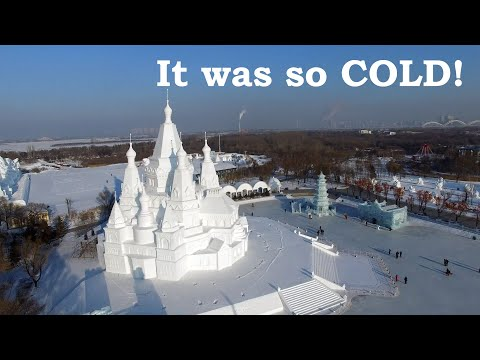 The Ice and Snow Sculpture Festival - Harbin, China 2016