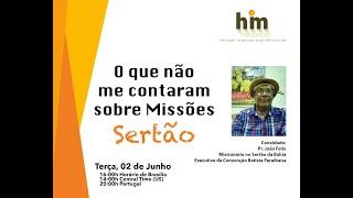 Hikmah Live - O que não me Contaram sobre Missões - Sertão