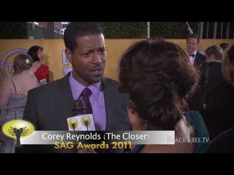 SAG Awards 2011  Corey Reynolds from The Closer