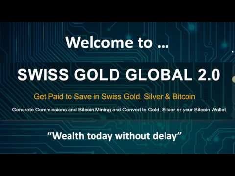Swiss Gold Global Business Opportunity Presentation April 2017