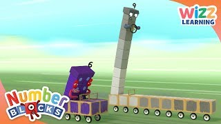 Numberblocks - Race To The Finish | Learn to Count | Wizz Learning
