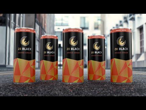 Neues Jahr. Neuer Geschmack / Energy Drink 28 BLACK launcht neue Geschmacksrichtung Orange-Ginger