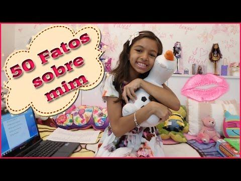 TAG: 50 Fatos sobre mim! Por Amanda de Carvalho - 50 facts about me